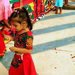little girl in indian dress 1