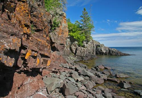 Shoreline on Mott Island