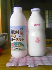 bottle, plastic bottle, dairy product, drink,