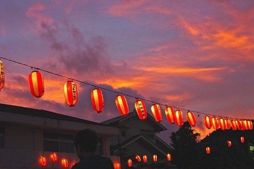 Obon Sunset