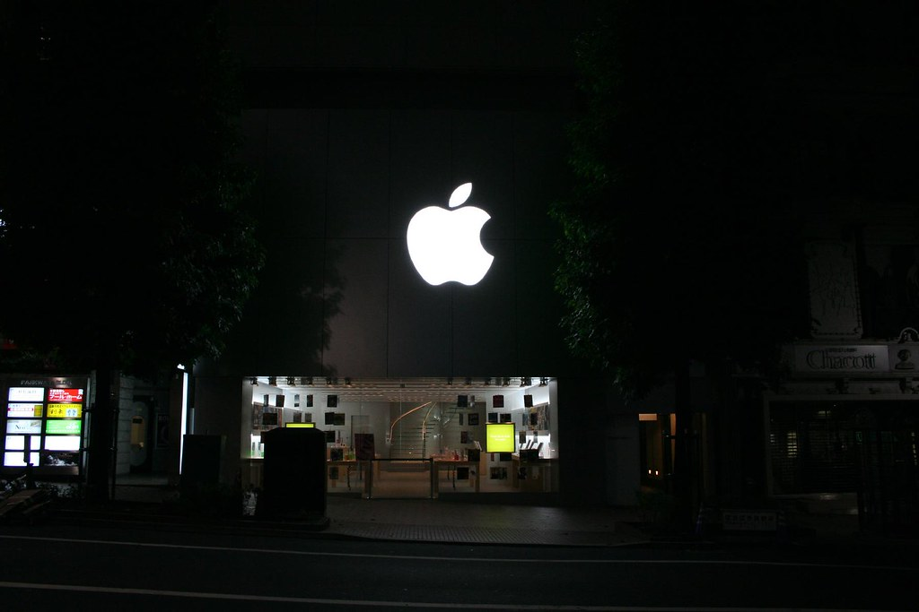 Apple Store Shibuya (Midnight)