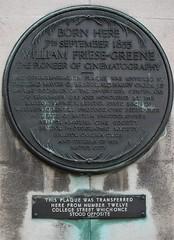 Photo of William Friese-Greene bronze plaque