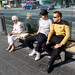 Star Trek on the street by Simon Zirkunow