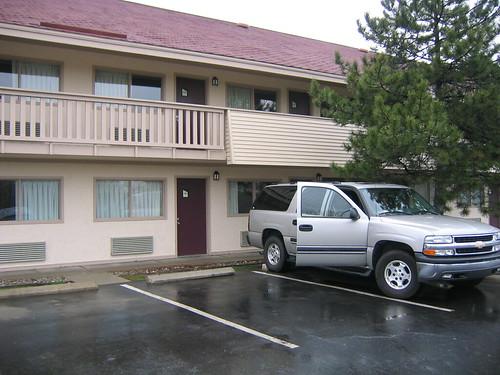 The Red Roof Inn hotel in Lansing