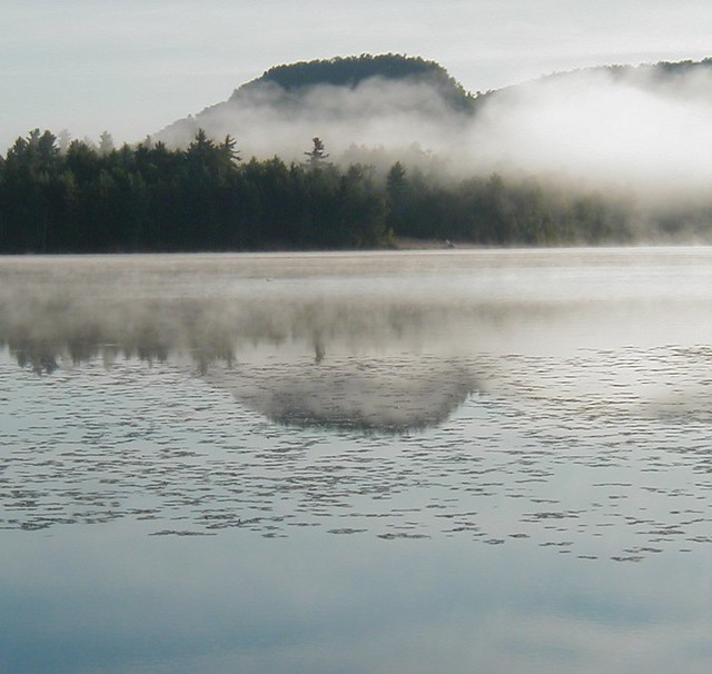 Misty Lake: Flickr - Photo Sharing