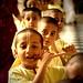 young Krishna devotees..... by Sanzen