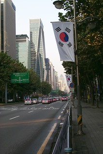 Early morning in Seoul