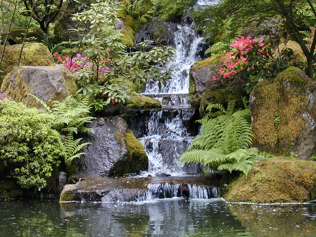 Japanese Gardens Portland Oregon Flickr Photo Sharing