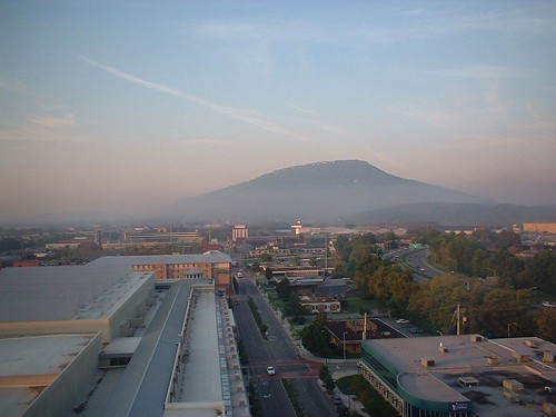 Morning Fog and Lookout Mountain