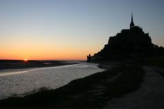 Mont St. Michel at Dusk, 2005