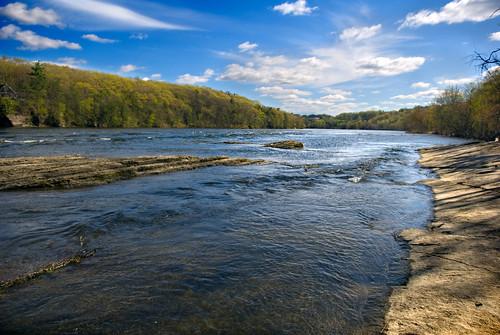 blue sky river landscape ma fun spring nikon connecticut d200 dinosaurs ctriver connecticutriver 2010 waterscape 1755 westernmass nikond200