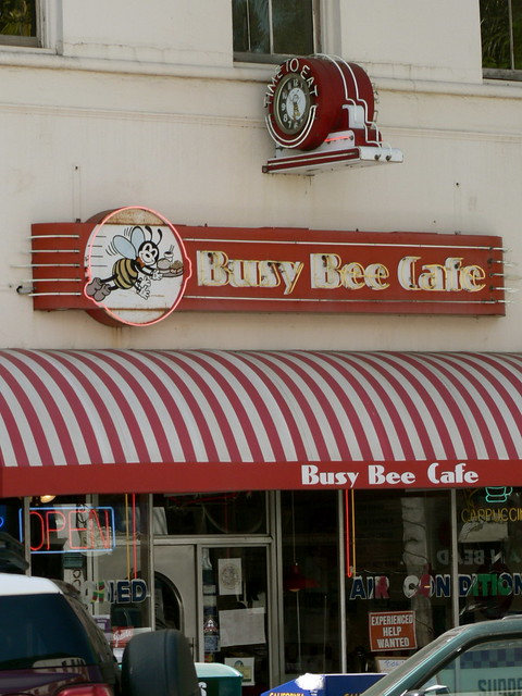 Busy Bee Cafe  S Wilmington St Raleigh Nc