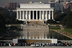 World War II and Lincoln Memorials