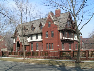 Buhl House, Indian Village, Detroit