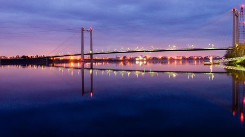 usa sunrise river washington columbia columbiariver cablebridge kennewick pasco tricities tressle traintressle anawesomeshot colorphotoaward