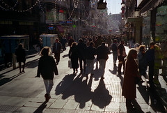 Barcelona La Rambla  at  Xmas