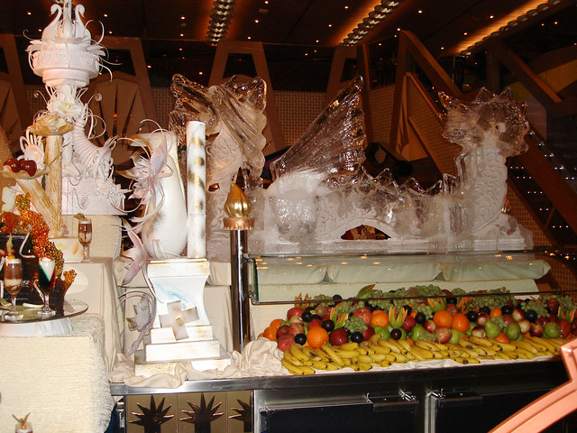 Carnival triumph midnight buffet on celebrity