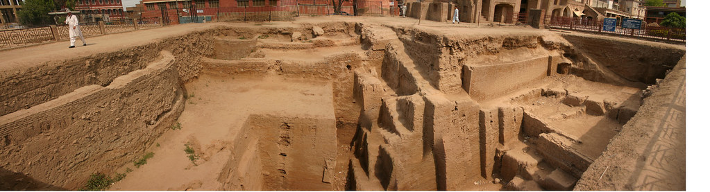Gorgathree Excavation, Peshawar City