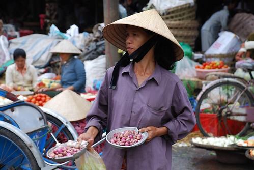 Hue - Dong Ba market seller