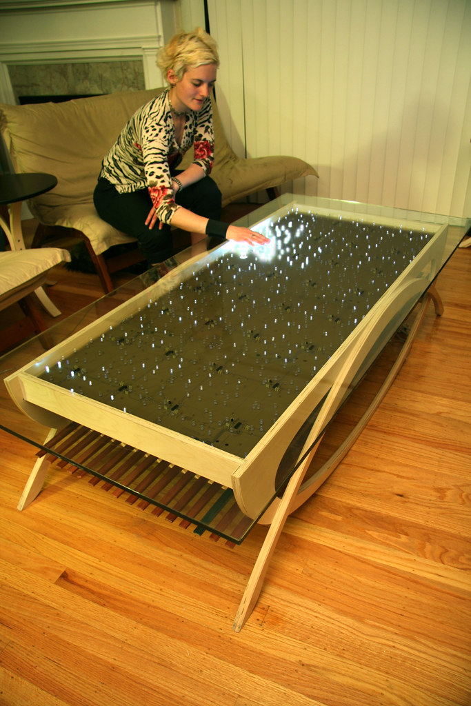 Interactive LED Coffee Tables
