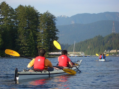 A Kayak Adventure in Vancouver's Deep Cove - Inside