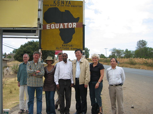 IFACCA Board at the equator, Kenya, March 2007