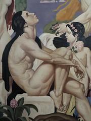 """""""La Voix de Pan"""", 1930, étude, Emile Aubry (1880-1964), Musée des beaux-Arts, Pau, Béarn, Pyrénées Atlantiques, Aquitaine, France."""