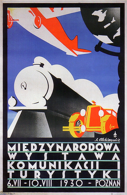 Polish Art Deco poster. | Flickr - Photo Sharing!