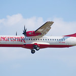 Kingfisher Airlines ATR 72-212A VT-KAE