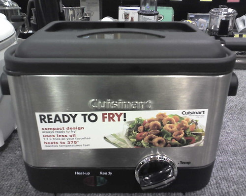 Fry's Appliance Round Up:  Fry Daddy!