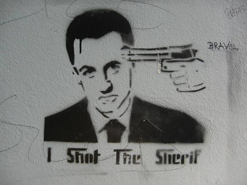 i shot the sherif