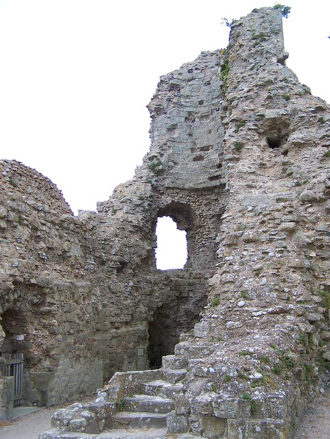 Pevensey Castle Tower
