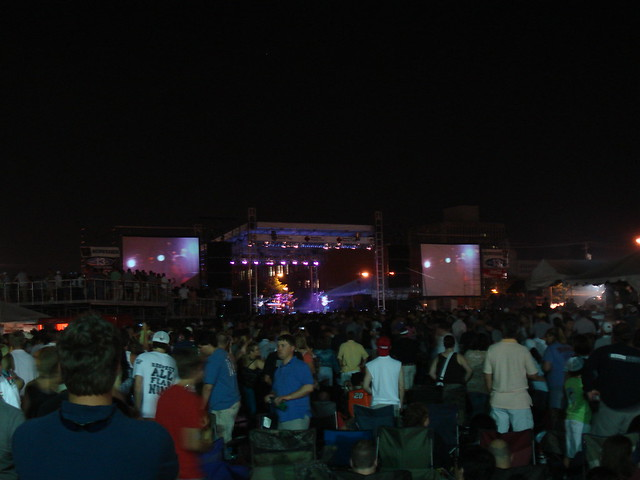 Concert Stage (Barenaked Ladies Performing), Crawfish Boil 2007, Birmingham AL