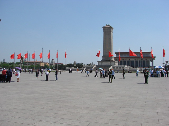 Tiananmen Square by CC user watchsmart on Flickr