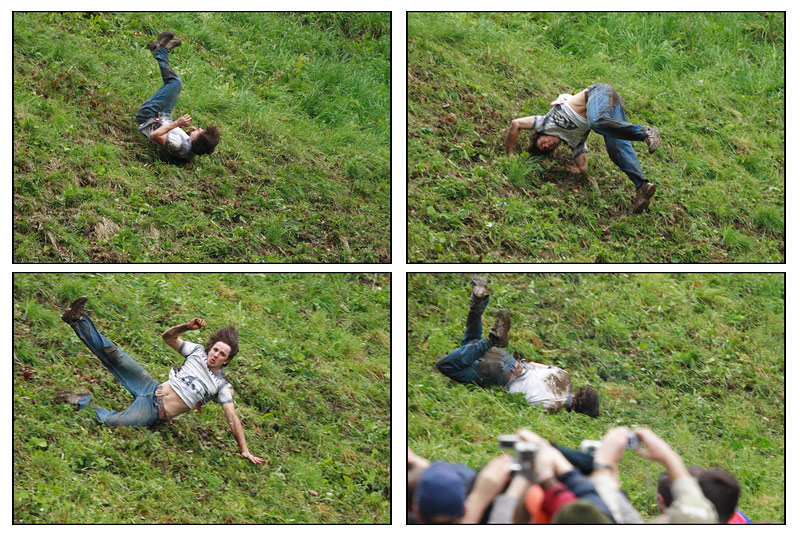 Cheese-rolling competition