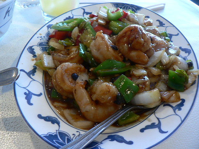 shrimp with black bean sauce | Flickr - Photo Sharing!
