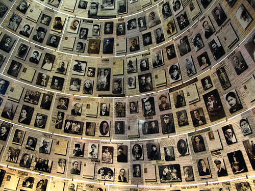 Israel-Yad Vashem Picture Wall