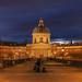 Le Pont des Arts at dusk HDR by David Giral | davidgiralphoto.com