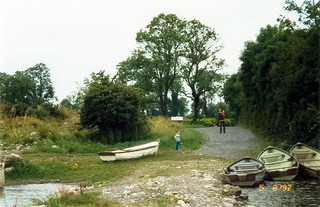 Camping by Lough Ree, Ireland