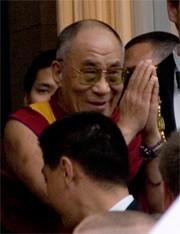 Dalai Lama in Leipzig