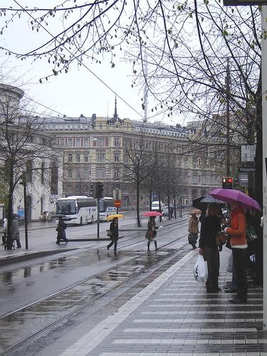 Sateinen päivä