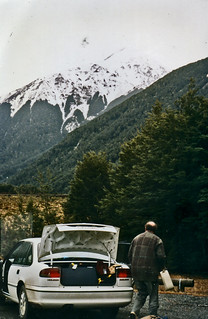 Phillip at Arthur's Pass, Westland, New Zealand, 1994