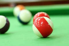 bowling pin(0.0), recreation(0.0), cue stick(0.0), games(0.0), carom billiards(0.0), indoor games and sports(1.0), individual sports(1.0), snooker(1.0), sports(1.0), nine-ball(1.0), pool(1.0), billiard ball(1.0), eight ball(1.0), english billiards(1.0), ball(1.0), cue sports(1.0),