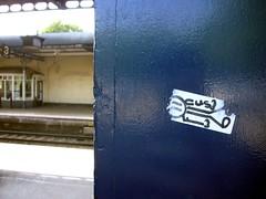Graffiti, Cheltenham Spa Station