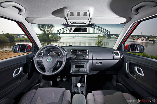 skoda fabia interior i wanted to try things a little diffe flickr photo sharing. Black Bedroom Furniture Sets. Home Design Ideas
