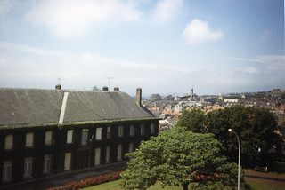 View from Boulogne's city wall