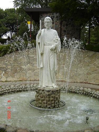 The Statue of Saint Joseph.