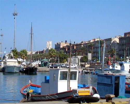 Cagliari Harbour