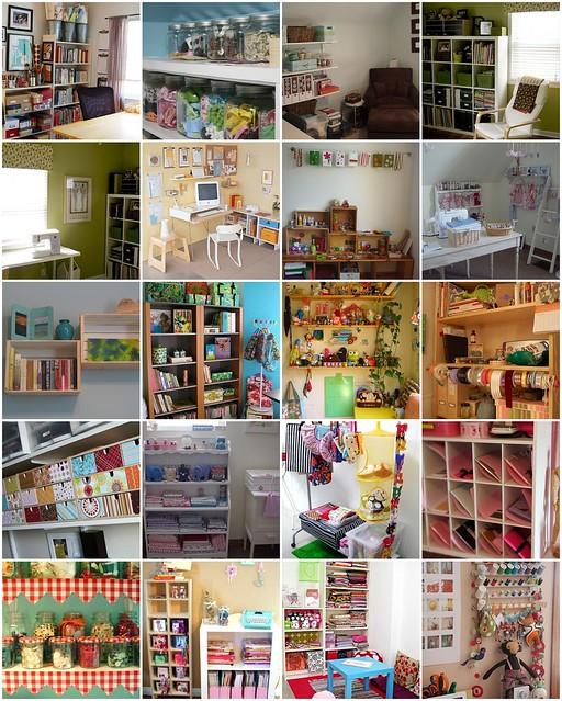 Craft Room Inspiration Ideas 400 x 500