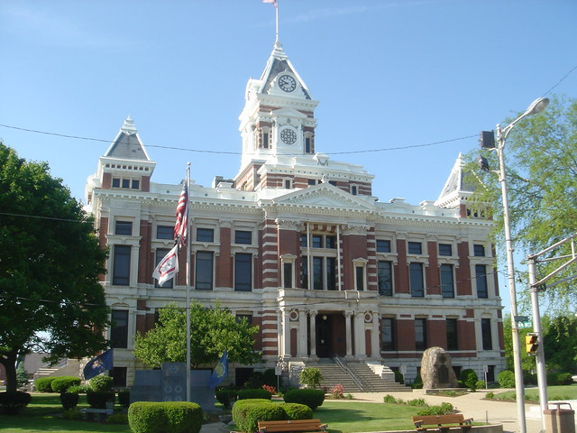Johnson County Indiana Courthouse Franklin Flickr Photo Sharing